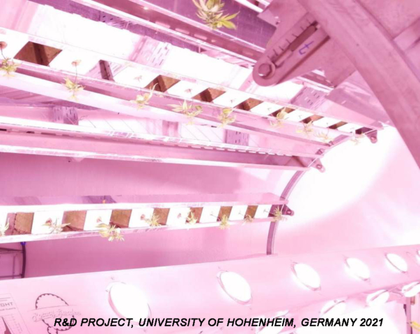 Research and development project, Stuttgart, Germany 2021